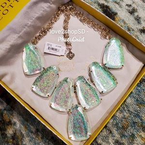Kendra Scott Dichroic Foil Harlow Necklace